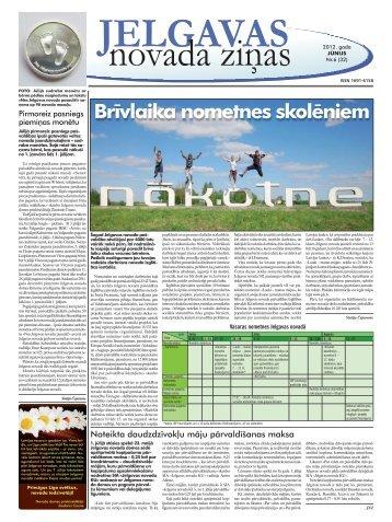 2012. gada jūnijs Nr.6. - Jelgavas rajona padome