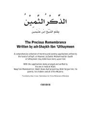 The Precious Remembrance - Enjoy Islam