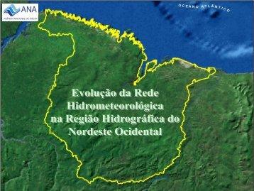 Evolução - RH Atlântico Nordeste Ocidental - Ana