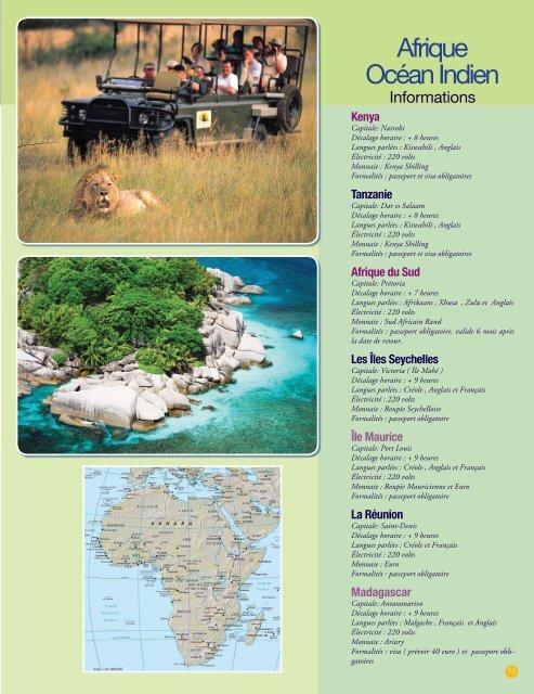 Afrique du Sud- Keny.. - Voyages Cassis