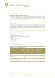 Scarichi la brochure - Hotel Lugano Dante