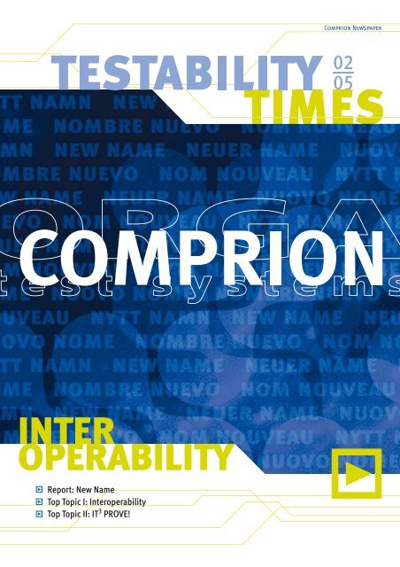 INTER OPERABILITY - Comprion