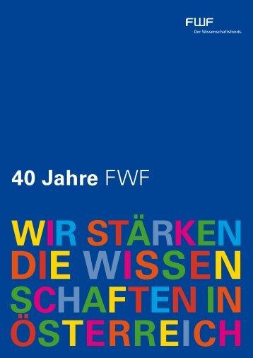 h 40 Jahre FWF