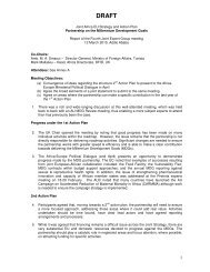 Report of the 4th Joint Expert Group meeting on MDGs - Africa-EU ...