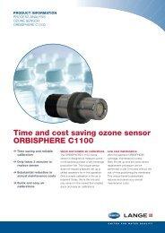 ORBISPHERE C1100 ozone sensor - HACH LANGE