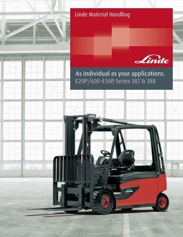 Download Brochure - Linde | forklift