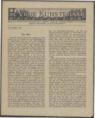 OCTOBER 1943 Een plan. - Vakbeweging in de oorlog