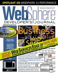 WEB SERVICES EDGE - sys-con.com's archive of magazines - SYS ...