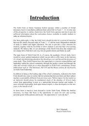 Introduction - Sutton Grammar School