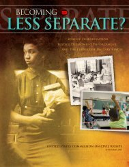Becoming Less Separate? - University of Maryland School of Law