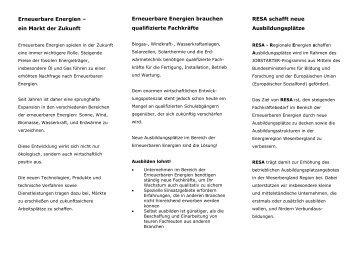 RESA - Flyer (247 KB)