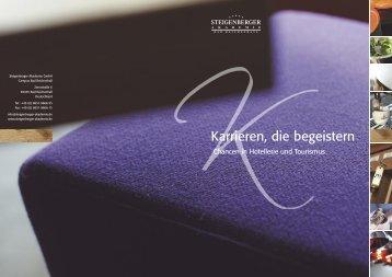 Broschüre - Steigenberger Akademie