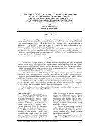 Inventarisasi Batubara Di Daerah Lintas Provinsi Daerah Sungai