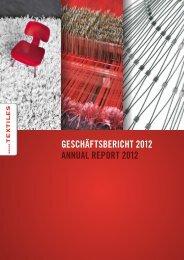 Geschäftsbericht 2012 - Textilverband Schweiz