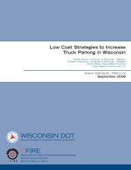 Low Cost Strategies to Increase Truck Parking in Wisconsin
