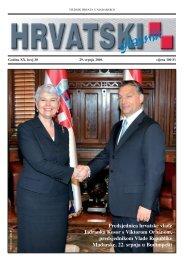 30. broj 29. srpnja 2010. - Croatica Kht.