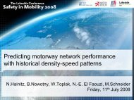Predicting motorway network performance with historical density ...