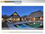 Download the flyer - Club Med Australia - Travel Agent's Portal