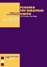 Funding the EU