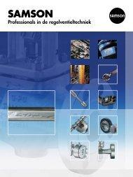 Professionals in de regelventieltechniek (pdf) - Samson Regeltechniek