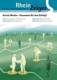 Social Media – Garanten für den Erfolg? - RheinZeiger