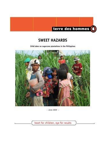 SWEET HAZARDS - Terre des Hommes
