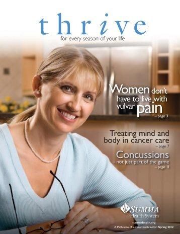 Spring 2012 - Summa Health System