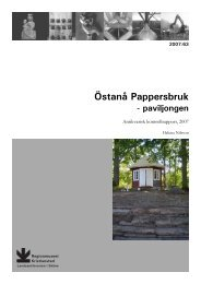Östanå Pappersbruk - Regionmuseet Kristianstad