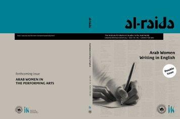 Arab Women Writing in English - Lebanese American University