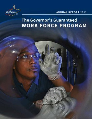 Governor's Guaranteed Work Force Program - West Virginia ...