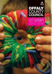 Arts Plan 2012-2016 - Offaly County Council