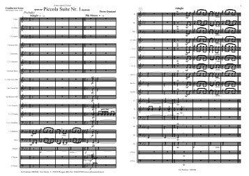 Piccola Suite Nr. 1 - Edizioni Eufonia