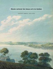 Musée national des beaux-arts du Québec. Rapport ... - Bibliothèque