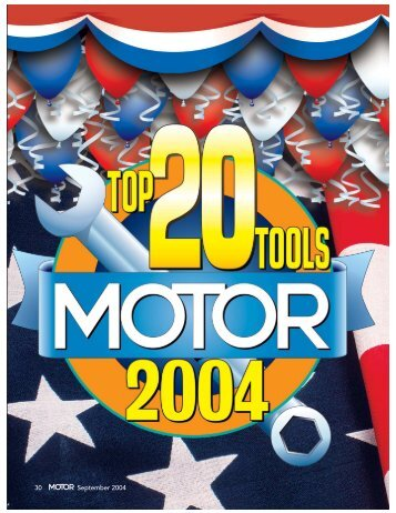 MOTOR page- - MOTOR Information Systems