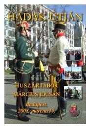 HUSZÁRTÁBOR MÁRCIUS IDUSÁN Budapest ... - Magyar Huszár