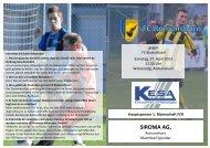 2013 04 27 Match Programm Bischofszell - FC Romanshorn