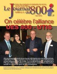 juin 2010 - Union des employés et employées de service - Locale 800