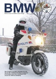2006 nr. 1 - BMW Klubben Norge