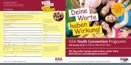 Deine Worte haben - German Speakers Association eV