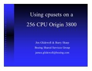 Slides in PDF format - Cray User Group