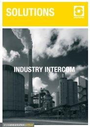 STENTOFON Industry Intercom.indd - Zenitel