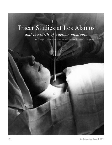 Tracer Studies at Los Alamos - Federation of American Scientists