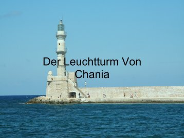 Chania Leuchtturm