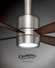 2012 COLLECTION - Casablanca Fan