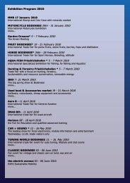 Exhibition Program 2010 - Hotel Bodensee