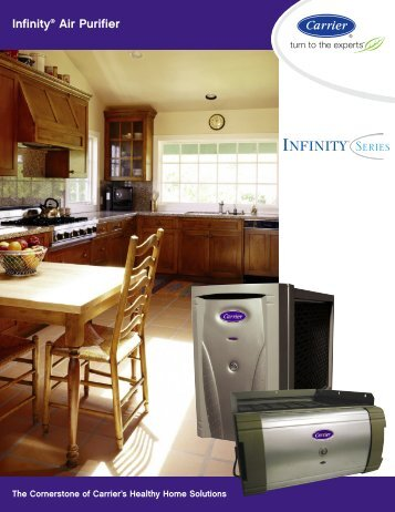 Carrier Infinity Air Purifier - Standard Heating and Air Conditioning