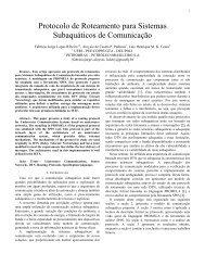 Protocolo de Roteamento para Sistemas ... - GTA - UFRJ