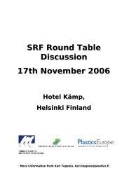 Round Table Helsinki Lanfranchi 2006 - ERFO