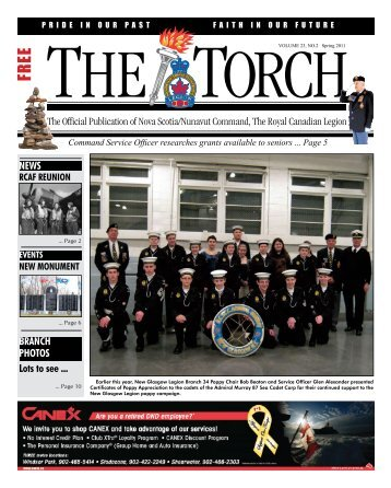 NEWS BRANCH PHOTOS Lots to see ... - Royal Canadian Legion