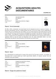 DEC 2012_Documentaires Adultes.pdf - Terville